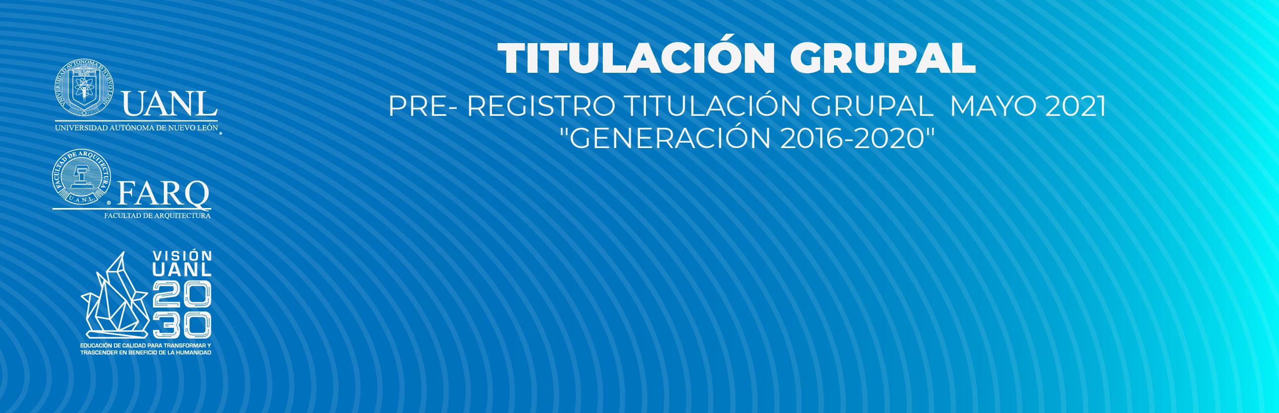 Titulación Grupal