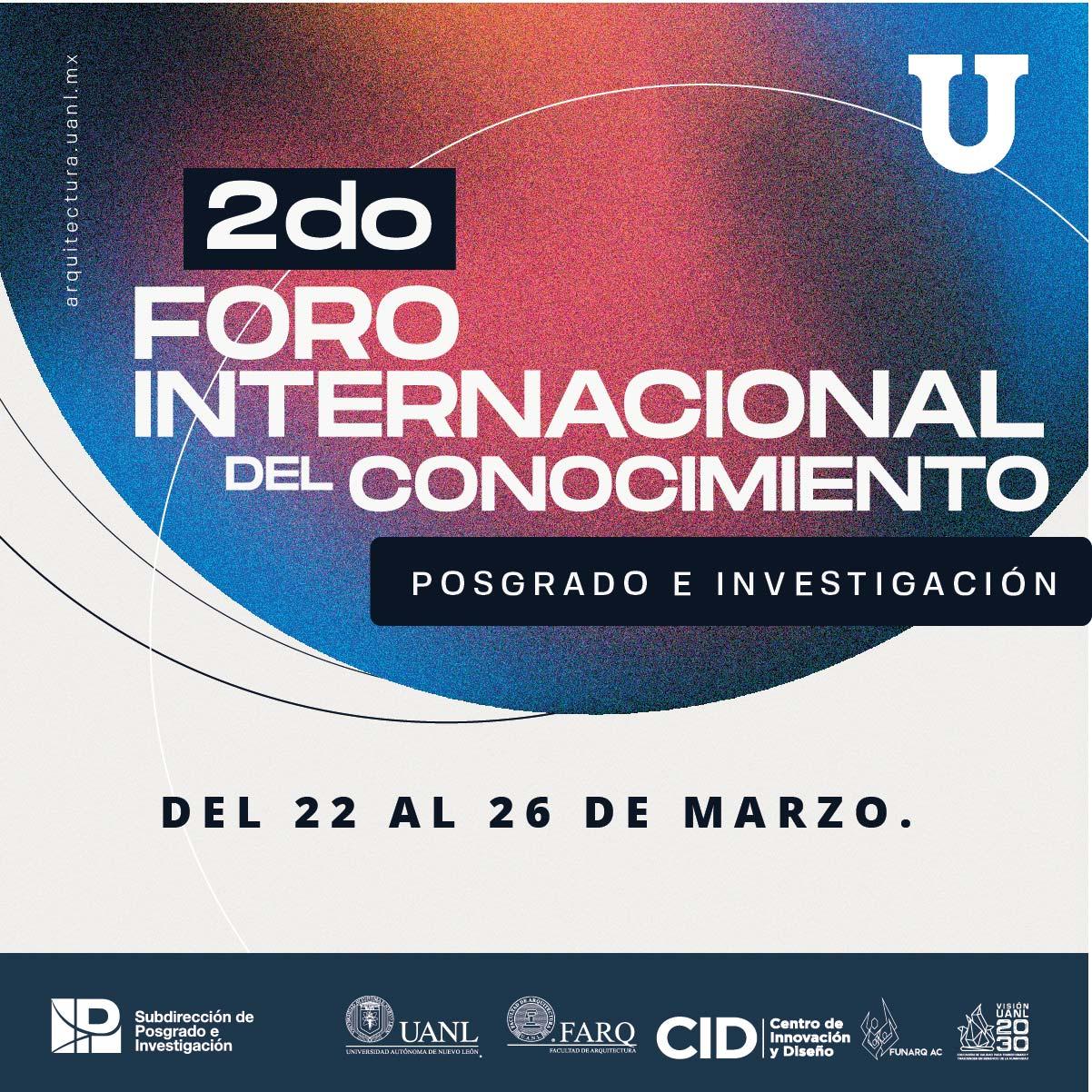 2do. Foro Internacional del Conocimiento Posgrado e Investigación