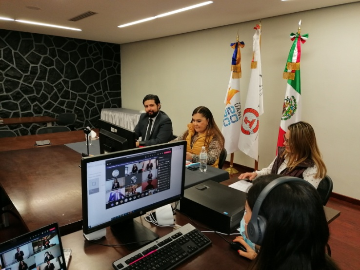 Ceremonia de Toma de Protesta Virtual Generación  2015 -2020