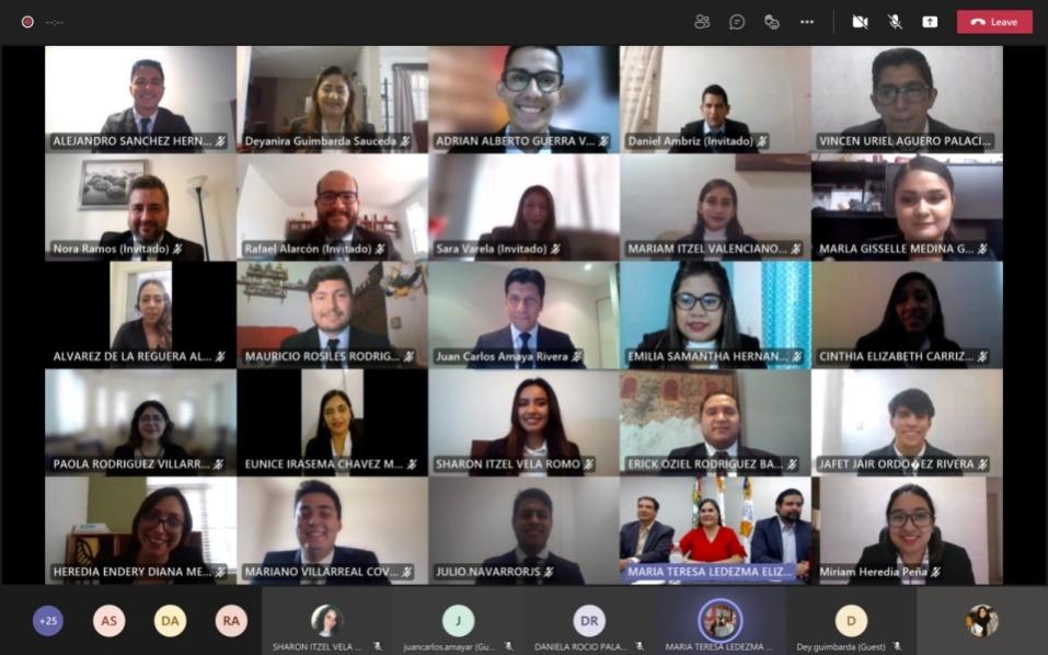Ceremonia de Toma de Protesta Virtual Generación  2016 – 2020