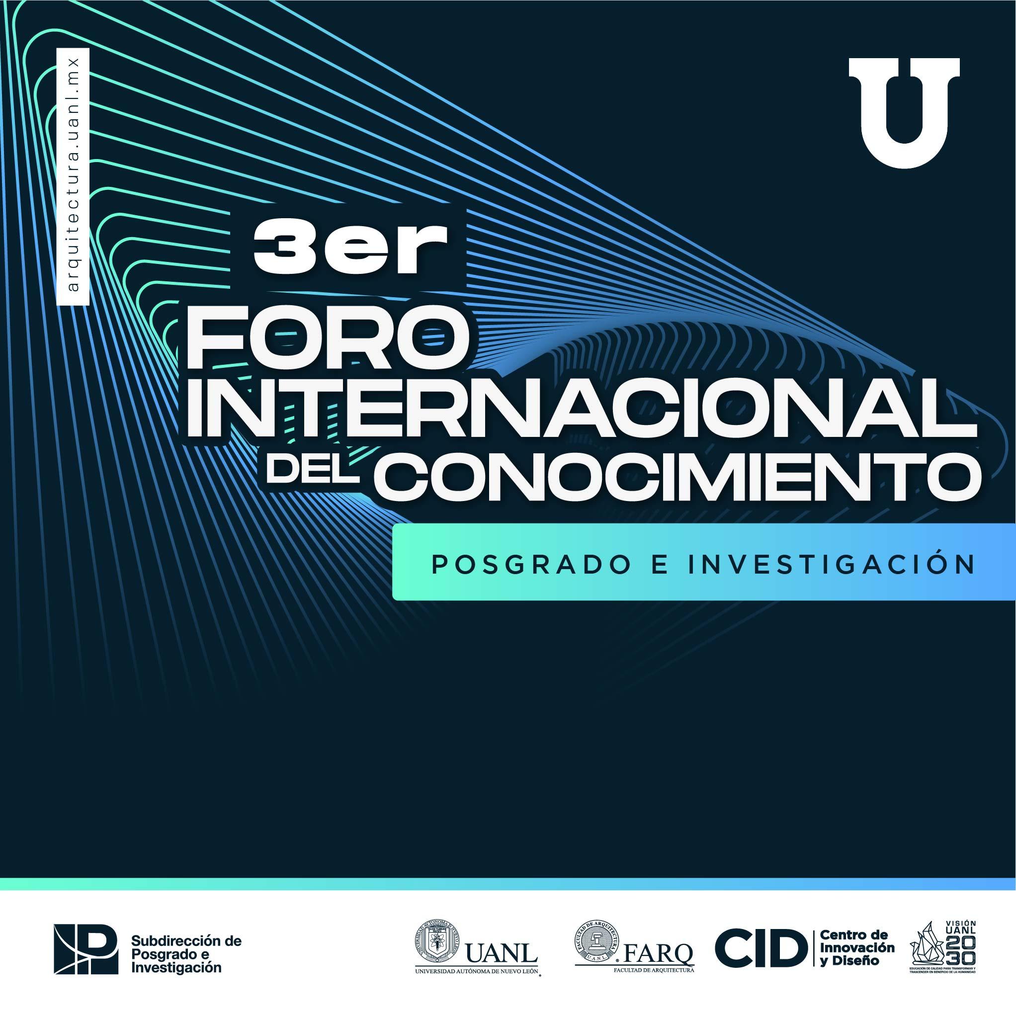 3er. Foro Internacional del Conocimiento.