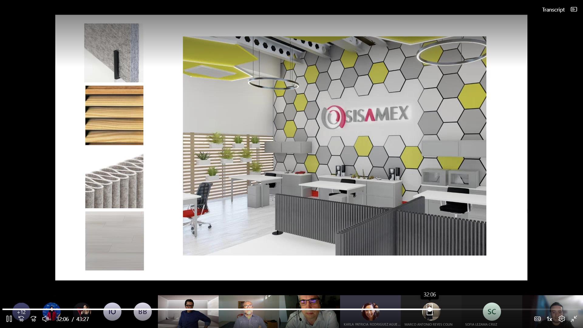 Concluye RETO SISAMEX en la maestría de Diseño de Interiores y Ambientes Arquitectónicos